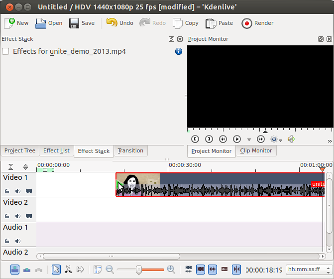 Guide to Open Source Video Editing using Kdenlive