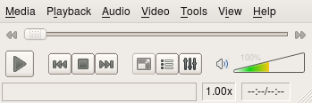 User Interface of the Video LAN Client (VLC)