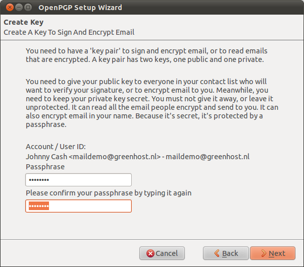 Encrypt your Email with GPG
