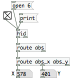 use [route] to isolate the x,y data